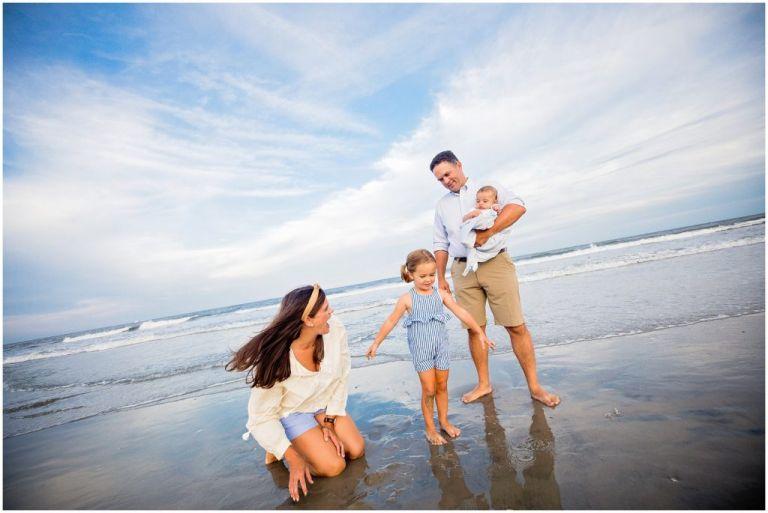 Fun Family photographer in Ocean City NJ