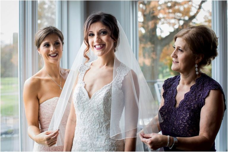 Woodcrest County Club Wedding in NJ Bridal Prep