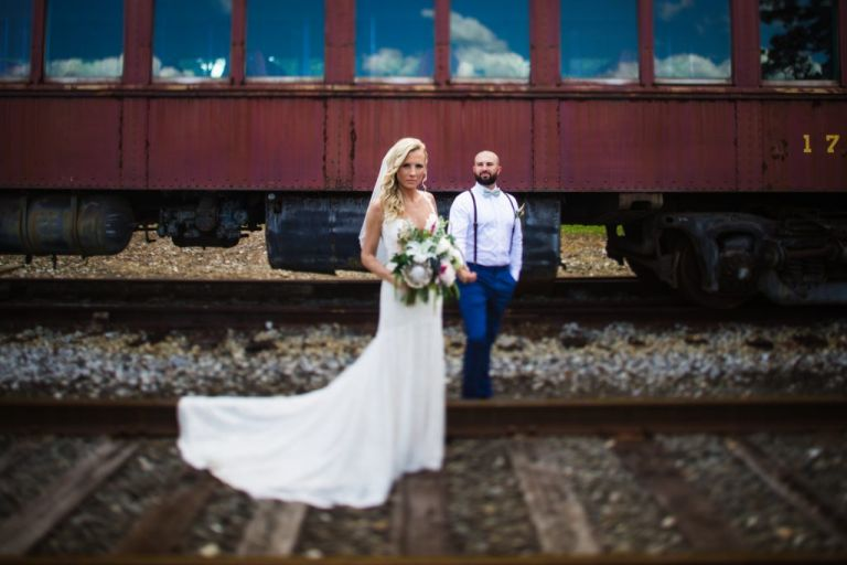 Everly at Railroad Wedding Photographer
