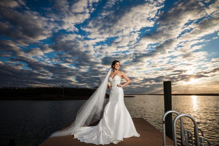 NJ Wedding photographer Yacht Club of Sea Isle City Wedding