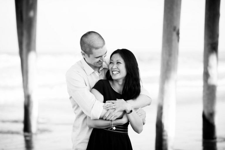 Ocean Wedding Photographer engagement session