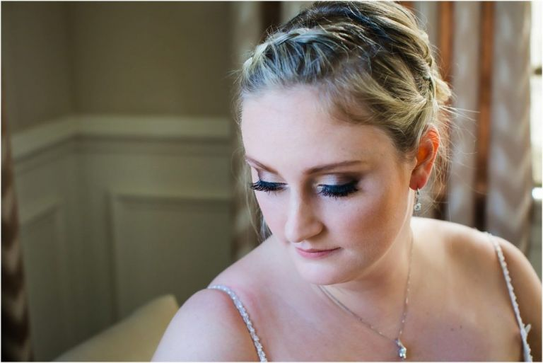 Bride portrait at AC Country Club NJ