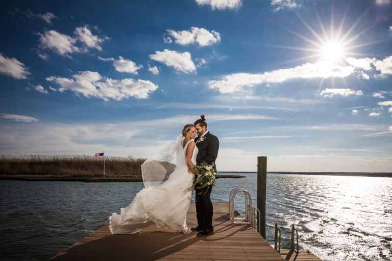 Yacht Club of Sea Isle City Wedding Photographer