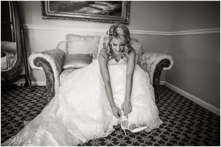Bridal Prep at Greate Bay Country Club