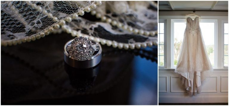 Wedding details at AC Country Club