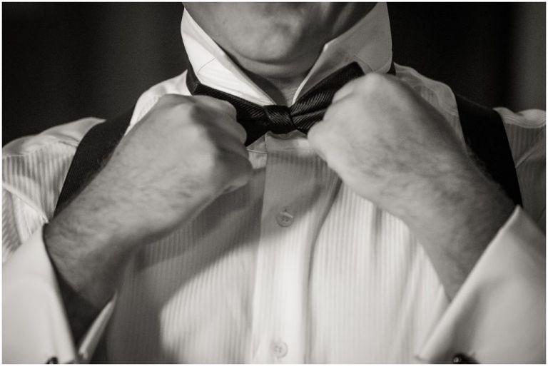 Groom Prep at Atlantic City country club wedding