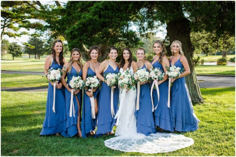Bridal Party with Betina's at Parkview Bouquet