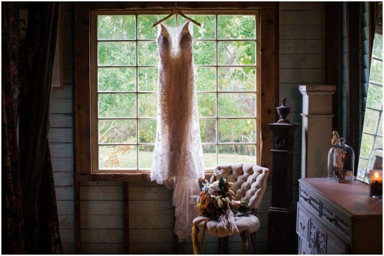 Wedding Dress at Everly at Railroad