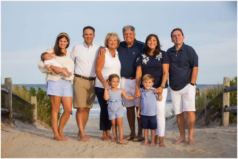 Ocean City Family Portrait