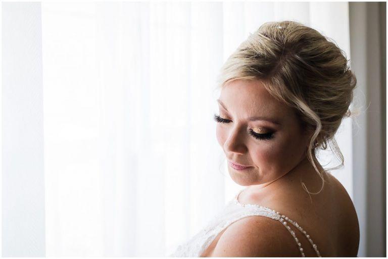 Beautiful portrait of NJ Bride